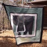 Elephant paper piecing on an elephantine scale.