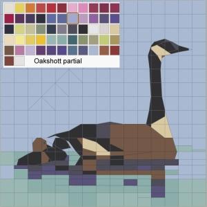 Goose in Oakshot