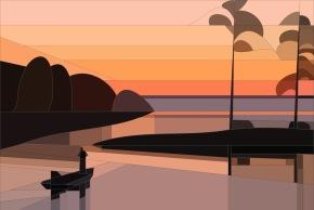Sunrise quilt project