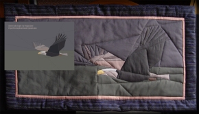 Eagle quilt pattern