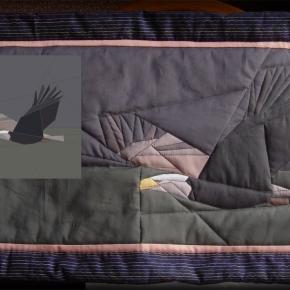 Eagle quilt pattern