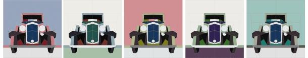 Chet Krause Car contrast strip