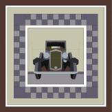 Chets Car quilt 60 odd