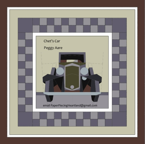 Chets Car quilt Peggy Aare
