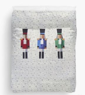 Nutcracker, bed-sized paper-pieced pattern
