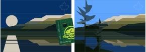 Canadian Parks, Jasper paperpieced