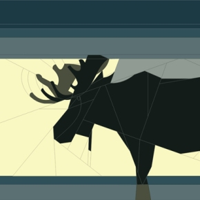 Moose, revisited: paper piecingpattern