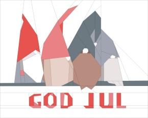 Wishing you god jul (Merry Christmas inNorwegian)