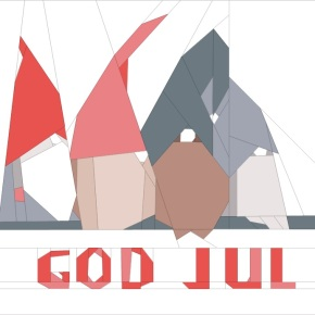 Wishing you god jul (Merry Christmas in Norwegian)