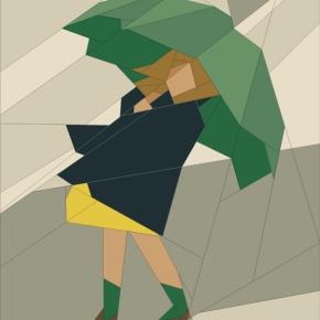 Umbrella Girl — Straight lineseams